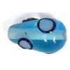 Glass Lamp Bead 15x9mm Pear Shape Aqua